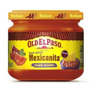 Old el paso Dip mexicanita, sauce apéritif Tomates-Jalapeno - Le pot de 335g