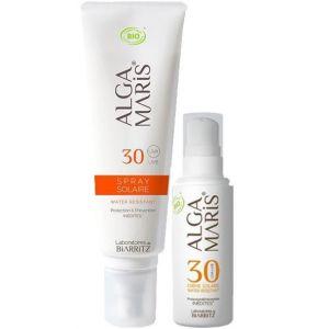 Laboratoires de Biarritz Crème Visage 30 et Spray SPF30