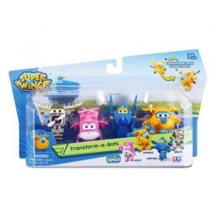 Auldey Pack de 4 mini figurines Super Wings
