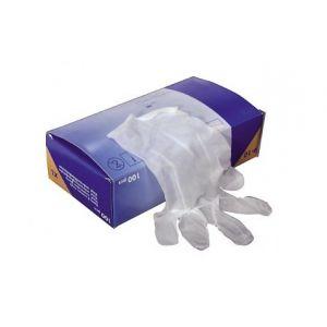 Gants jetables en vinyle (T8/9 L)(X 100)
