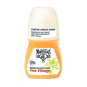 Le Petit Marseillais Déodorant Extra Doux 24h Fleur d'Oranger