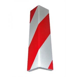 Norauto 1 mousse de protection d'angle rouge et blanche pour voiture 40 cm