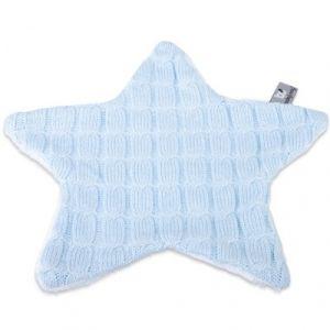 Baby's Only Couverture confort en forme d'étoile en tricot avec doublure en peluche