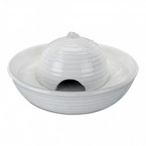 Trixie Fontaine à boire Vital Flow Mini en céramique - 0,8 L - Blanc - Pour chien