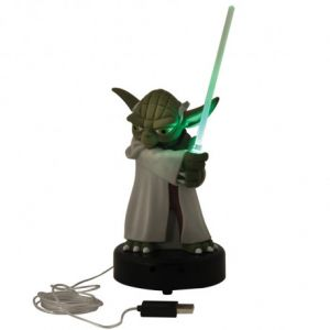 Wesco GIFSTW003 - Jeu Electronique - Star Wars - Yoda - USB Desk Protector