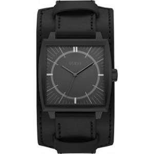 Guess W1036G - Montre pour homme avec bracelet en cuir