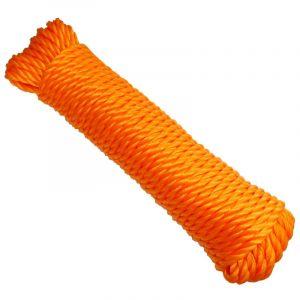 Aerzetix : Bobine de corde fil à linge 7mm 20m couleurs variables C18614