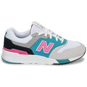 Image de New Balance Baskets basses enfant 997 blanc - Taille 36,37,38,39,40