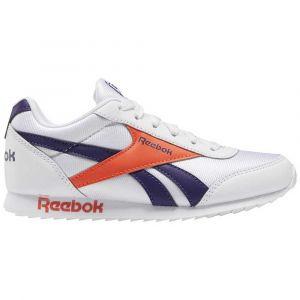 Reebok Royal Classic Jogger 2 Kid EU 35 White / Mystic Orchid / Vivid Orange - White / Mystic Orchid / Vivid Orange - Taille EU 35