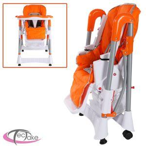 TecTake Chaise haute grand confort