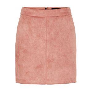 Vero Moda Jupes Vero-moda Donnadina Faux Suede Short Noos - Old Rose - XL