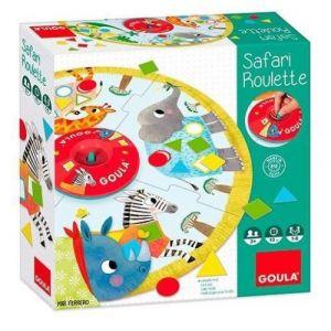 Goula Jeu de société Safari Roulette