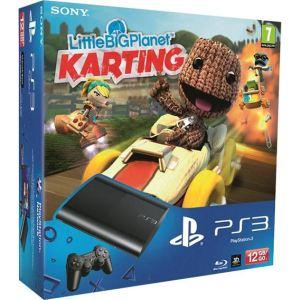 Sony PS3 Ultra Slim 12 Go + Little Big Planet Karting