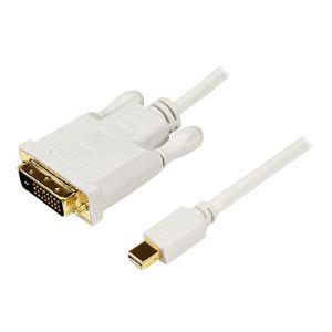 StarTech.com MDP2DVIMM3W - Adaptateur Mini DisplayPort vers DVI 91 cm