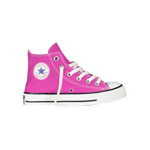 Converse Star Hi Youth J Chaussures Pink