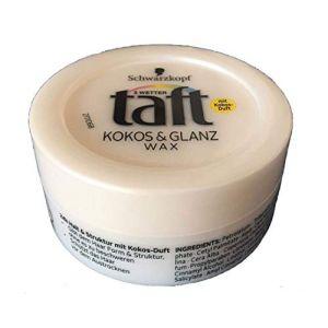 Schwarzkopf Taft Kokos & Glanz Wax - 75 ml