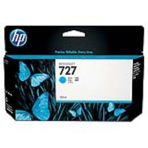 HP B3P19A - Cartouche d'encre n°727 cyan (130ml)