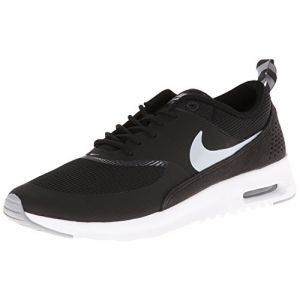 Nike Air Max Thea, basket femme, Noir - Schwarz (Black/Wolf Grey-Antharcite-White), 36.5