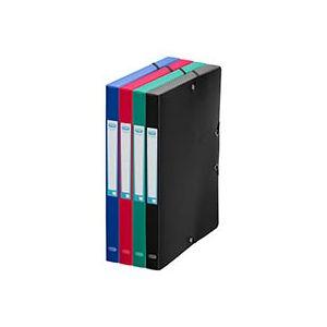 Elba Chemise box plastique 24 x 32 cm dos 2,5 cm