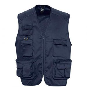 Sol's GILET REPORTER MULTIPOCHES HOMME