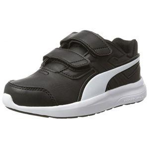 Puma Escaper SL V PS, Chaussures de Running Compétition Mixte Enfant, Noir Black-White, 30 EU