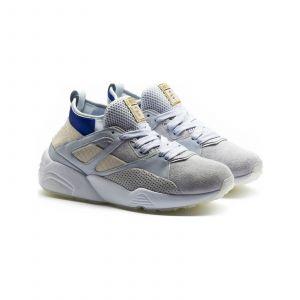 Puma Baskets Running - gris clair