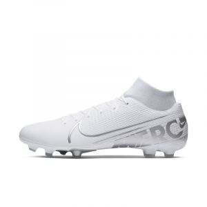 Nike Chaussure de football multi-surfacesà crampons Mercurial Superfly 7 Academy MG - Blanc - Taille 46 - Unisex