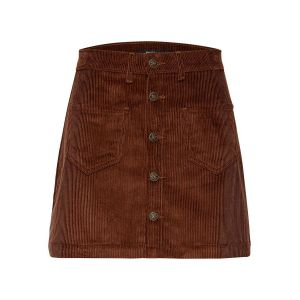 Only NOS Onlamazing Hw Corduroy Skirt PNT Noos Jupe, Marron (Coffee Bean Coffee Bean), 38 (Taille Fabricant: Small) Femme
