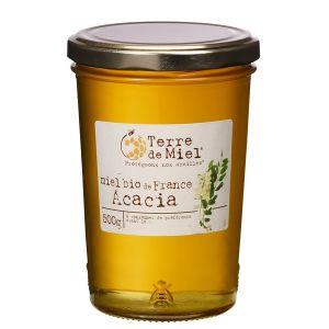 Terre de miel Miel d'acacia bio France 500 g