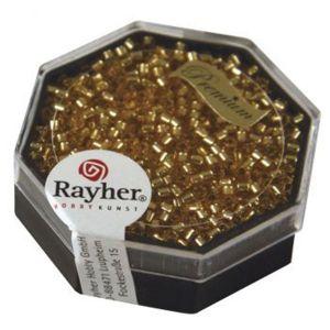 Rayher Perles Miyuki Delica 10/0 garniture argent topaze clair - DMB 42