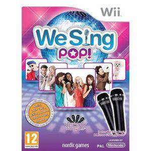 We Sing Pop + 2 micros [Wii]