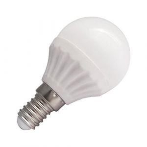Vision-El Ampoule Led 6W (60W) E14 Boule opaque Blanc jour 4000°K -