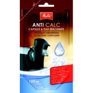 Melitta 213948 - Anti Calc détartrant pour machines à café à capsules et à dosettes
