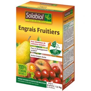 Solabiol Engrais Fruitiers 1,5 kg - 100% naturel