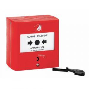 Legrand Déclencheur manuel pour équipement d'alarme incendie