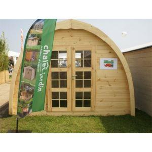 Chalet et Jardin Igloo - Abri de jardin en pin 10 m2