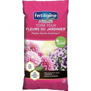 Fertiligene Terre pour Fleurs du Jardinier 40 litres FDJ40N