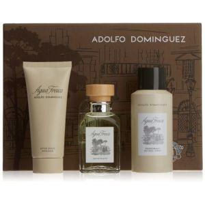 Adolfo Dominguez Agua Fresca - Coffret eau de toilette, déodorant et baume après-rasage