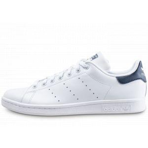 Adidas Baskets -originals Stan Smith - Running White / New Navy - EU 41 1/3
