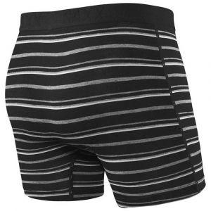 Saxx Underwear Vêtements intérieurs Vibe - Black Coast Stripe - Taille XXL