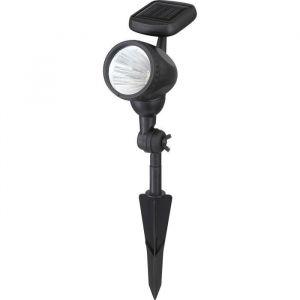 Globo Lighting Spot solaire - Plastique noir - Plastique translucide - IP44
