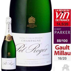 Pol roger Champagne AOP, brut - La bouteille de 75cl avec étui