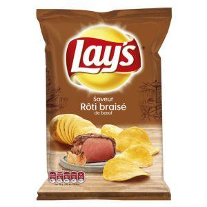 Lay's Chips roti braisé - Le paquet de 120g