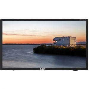 """Alden SATMATIC AIO 22"""" - Téléviseur + Lecteur DVD intégré pour antenne automatique + Module FRANSAT avec carte"""