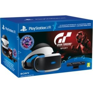 Image de Sony PlayStation VR + Caméra V2 + Gran Turismo Sport + VR Worlds + Qui-es-tu ?