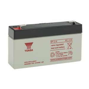 Yuasa Batterie plomb étanche NP1.2-6 6V 1.2ah