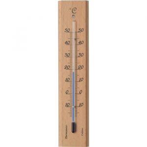 Nature Thermomètre de jardin en bois