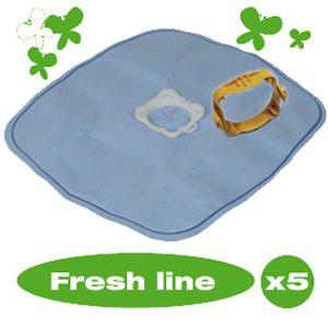 Wonderbag WB415120 - 5 sacs parfumés Fresh Line pour aspirateurs