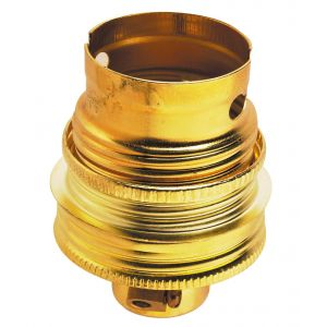 Legrand Douille à baïonnettes B22 en métal + bague - Accessoire luminaire