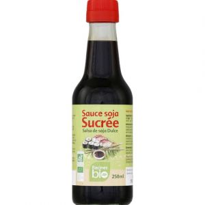 Racine Bio Sauce soja sucrée biologique, racines bio, bouteille de 250ml